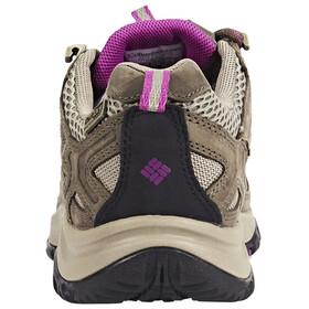 Columbia Terrebonne Outdry Shoes Women pebble/intense violet